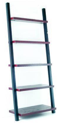Tag 390143  5 Shelves Bookcase