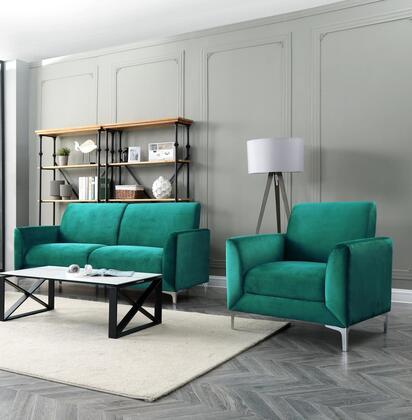 Myco Furniture Abigail 2056GRSC Main Image