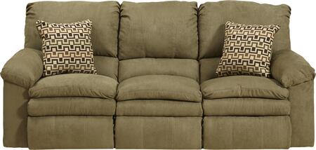 "Catnapper Impulse Collection 1241- 84"" Reclining Sofa with Pillow Pad Seats, Baseball Stitching and Split Back in"
