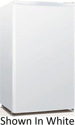 Equator REF120L33SS  Compact Refrigerator with 3.3 cu. ft. Capacity in Stainless Steel