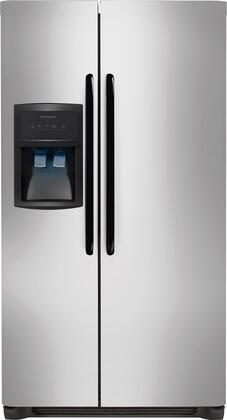 """Frigidaire FFHS2622MH 36"""" Freestanding Side by Side Refrigerator 