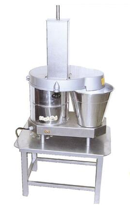 Skyfood PA Cheese and Vegetable Shredder-Slicer with 1 HP Motor in Stainless Steel
