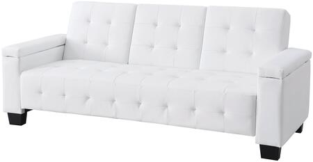 Glory Furniture G747S  Convertible Faux Leather Sofa