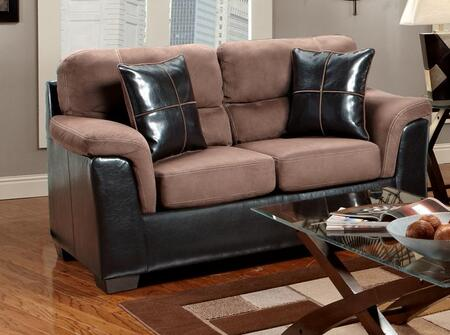 Chelsea Home Furniture 6202 Verona IV Annabelle Loveseat, with 1.8 Density Foam Cushion, Hardwood, Softwood and Engineered Wood Construction, and Polyester Upholstery