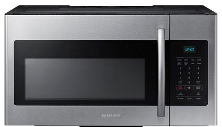 Samsung ME16H702SES 1.6 cu. ft. Over the Range Microwave Oven with 1000 Cooking Watts, in Stainless Steel