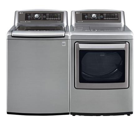LG WT5680HVAPAIR1 TurboWash Washer and Dryer Combos