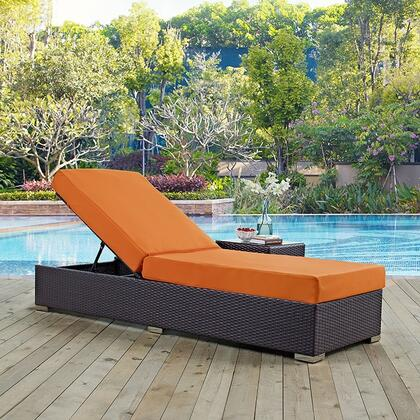 "Modway EEI1846EXPORA 82.5"" Water Resistant Lounge Chair"