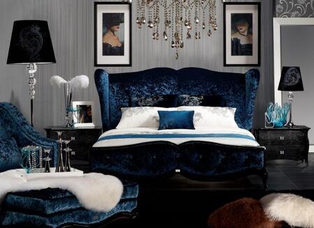 VIG Furniture AW229180K  King Size Platform Bed
