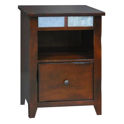 "Legends Furniture FC6805DNC 21.81"" Wood Transitional File Cabinet"