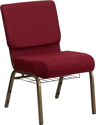 Flash Furniture FDCH02214GV3169BASGG Hercules Series Fabric Metal Frame Accent Chair