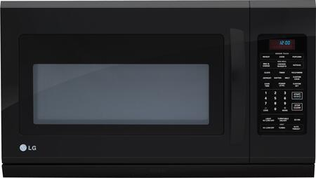 LG LMH2016SB 2 cu. ft. Over the Range Microwave Oven with 400 CFM, 1100 Cooking Watts, in Black