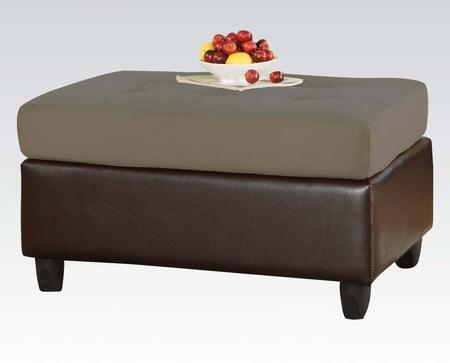 Acme Furniture 00112 Lisbon Series Contemporary  Ottoman