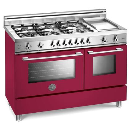 Bertazzoni X486GGGVVI Professional Series Natural Gas Freestanding |Appliances Connection
