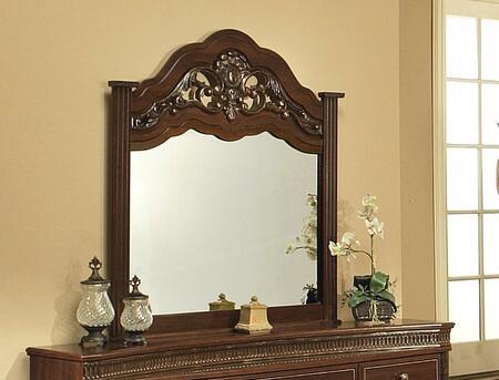 Sandberg 34110 Alexandria Series Arched Portrait Dresser Mirror