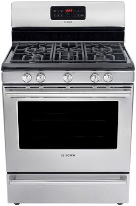 "Bosch HGS5L53UC 30"" 500 Series Gas Freestanding"
