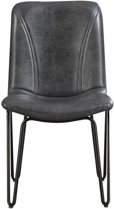 Coaster 130083 Chambler Series Transitional Metal Frame Dining Room Chair