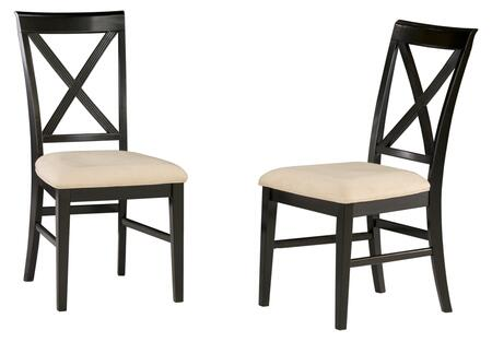 Atlantic Furniture LEXINGTONDCOCAW Lexington Series  Dining Room Chair
