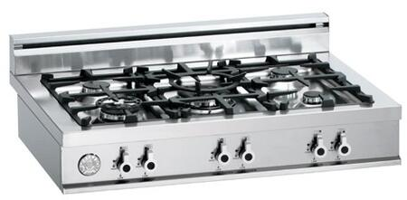 Bertazzoni C36500X  Gas Sealed Burner Style Cooktop, in Stainless Steel