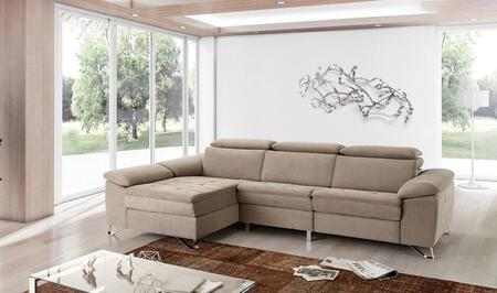 ESF Uve Collection i17526i17527 Sectional in Beige