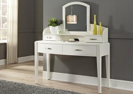Liberty Furniture 205YBRVN Avalon II Series Wood 4 Drawers Vanity