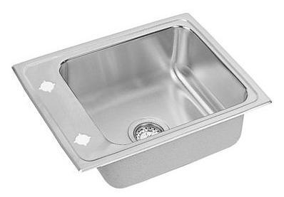 Elkay DRKAD2217600 Lustertone Single Bowl Classroom Commercial Sink