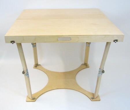 Spiderlegs CD3636X Hand Crafted Finished Puzzle Table with Unique Patented Folding Design in
