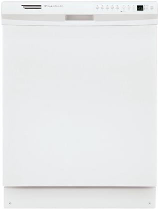 """Frigidaire FDB2410HIS 24""""  White Built In Full Console Dishwasher with 12 Place Settings Place Setting"""