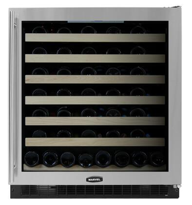 "Marvel 8SWCEBSGR 29.875"" Built-In Wine Cooler, in Stainless Steel"