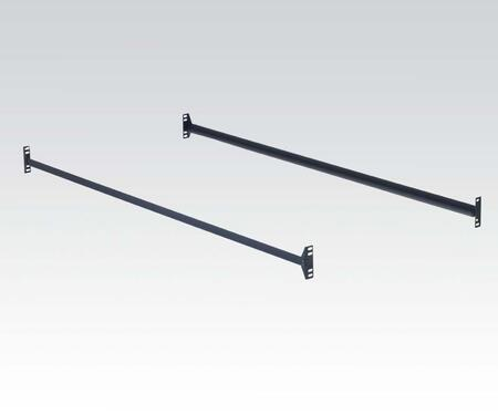 Acme Furniture 0240 Size Rails with Metal Construction in Black