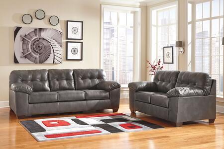 Milo Italia MI0210SL2PGRY Adriana Living Room Sets