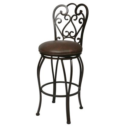 Pastel Furniture QLMA2222 Magnolia 30 in. Bar Height Swivel Barstool