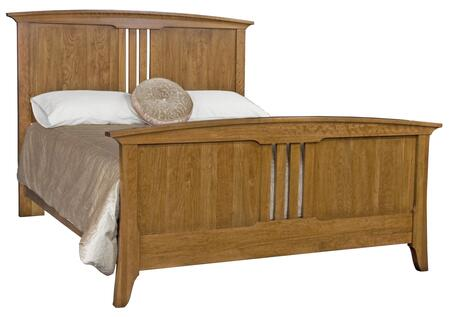 Durham 100144A Westwood Series  King Size Panel Bed