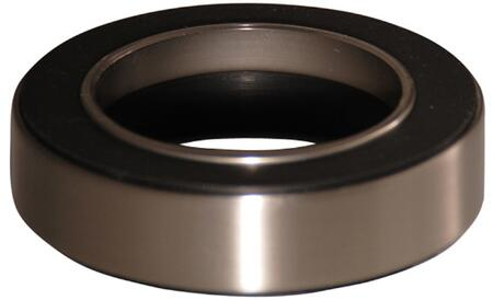 Mounting Ring with Brushed Nickel Finish (Regular View)
