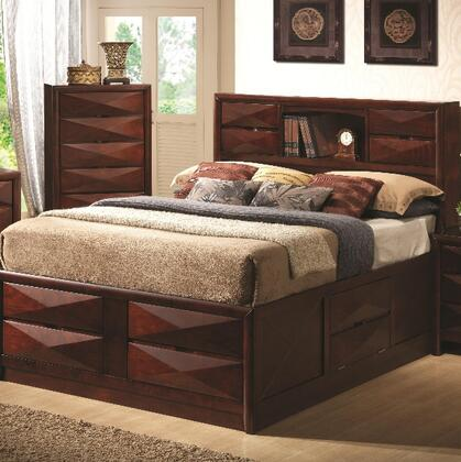 Coaster 202711KE Bree Series  King Size Bookcase Bed