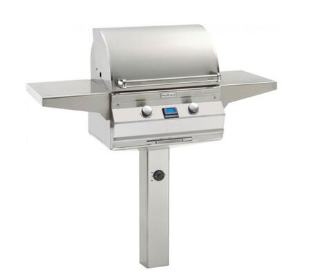 "FireMagic A430S5E1PX6 Aurora 55.75"" Liquid Propane Grill with E-Burners and Digital Thermometer"
