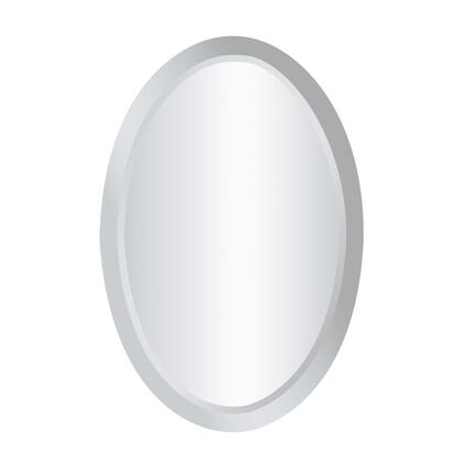 Sterling 11407 Chardron Series Oval Portrait Wall Mirror