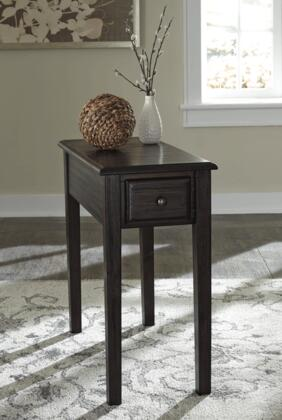 Signature Design by Ashley T900-6X Chair Side End Table withSolid Wood, Finished Drawer Box and Tapered Legs in