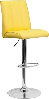 Flash Furniture CH122090YELGG Residential Vinyl Upholstered Bar Stool