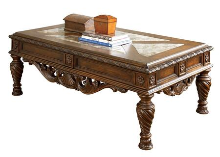 Milo Italia TA7406 Brown Traditional Table