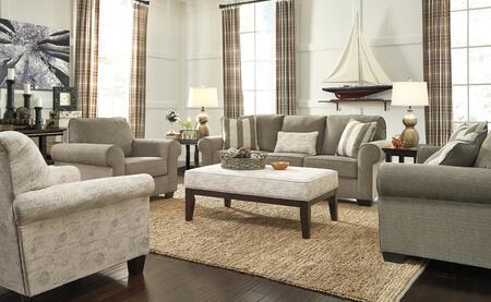Milo Italia MI4983SLCACAOFOG Braydon Living Room Sets