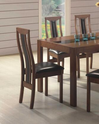 Coaster 102422 Cincinnati Series Contemporary Wood Frame Dining Room Chair