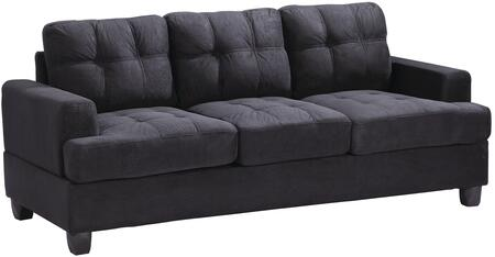 Glory Furniture G515AS  Stationary Suede Sofa