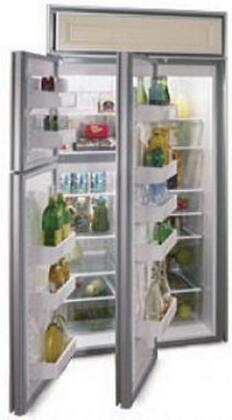 Northland 363DSSR  Counter Depth Side by Side Refrigerator with 22.8 cu. ft. Capacity in Stainless Steel