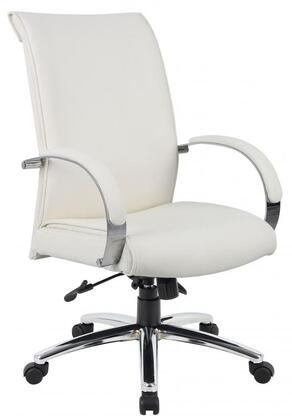 "Boss B9431WT 27"" Adjustable Contemporary Office Chair"