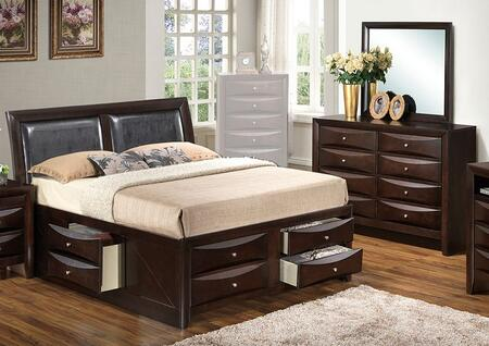 Glory Furniture G1525ITSB4DM G1525 Twin Bedroom Sets