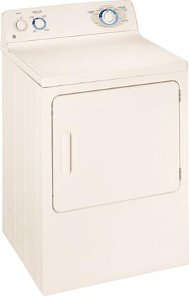 GE DBXR463EGCC  Electric Dryer, in Bisque