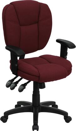 """Flash Furniture GO930FBYARMSGG 19.75"""" Contemporary Office Chair"""