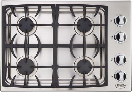 DCS CTD304SSN Natural Gas Cooktop