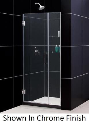 Dreamline Shdr 20397210s Unidoor Frameless Hinged Shower Door With