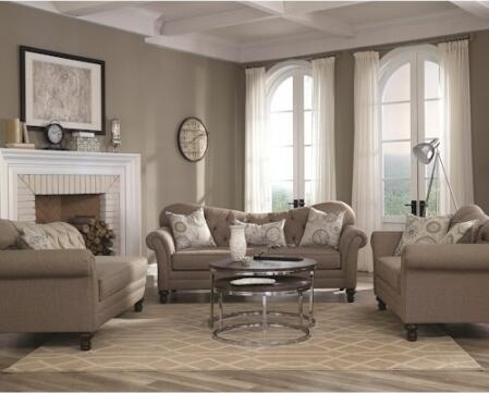 Coaster 5052513PC Carnahan Living Room Sets